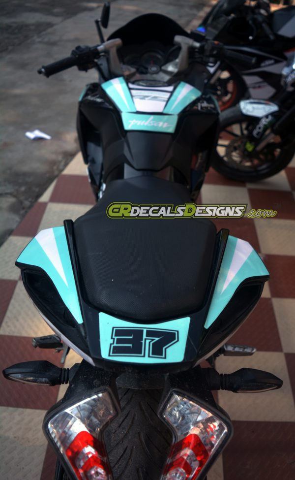 PULSAR RS 200 Custom Decals Wrap Stickers PETRONAS Edition