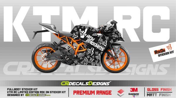 KTM Rc Full Body Kit rOK ON KIT-2