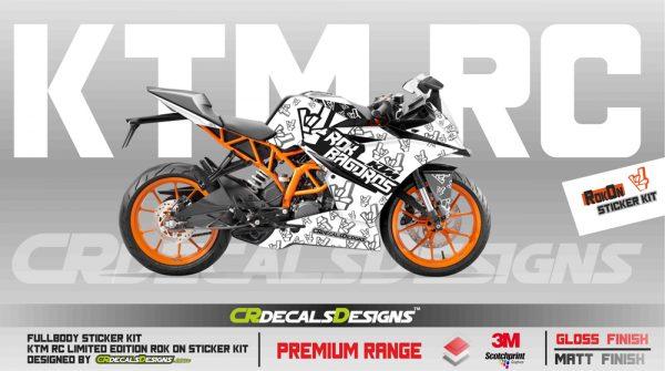KTM Rc Full Body Kit rOK ON KIT