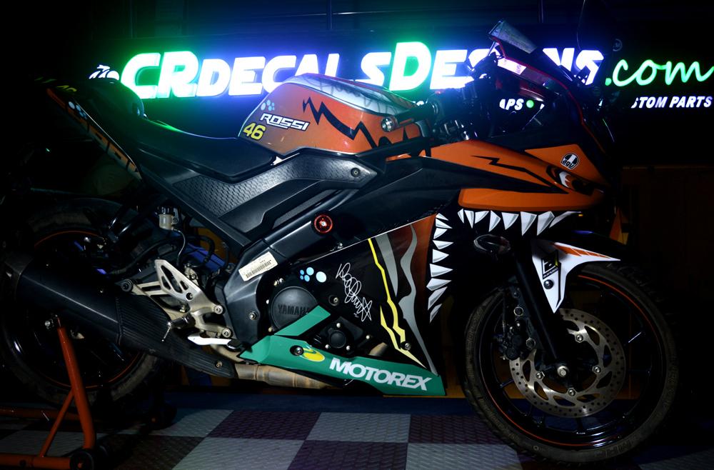 R15 v3 Shark Neon Orange