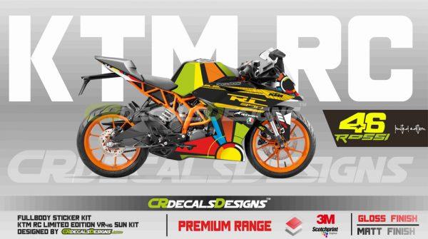 KTM Rc Full Body Kit 46 sun 1