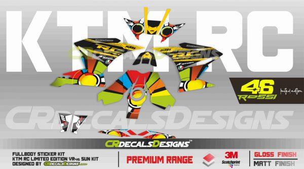 KTM Rc Full Body Kit 46 sun 2