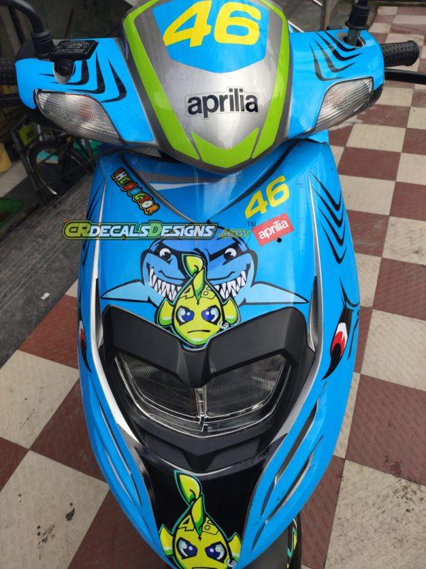 Aprillia full body kit vr46 shark3