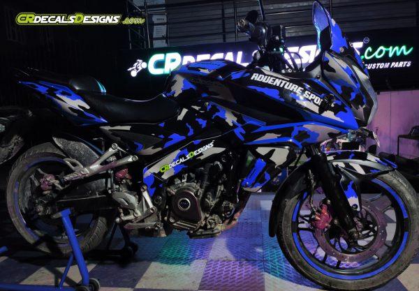 Camo2 Blue