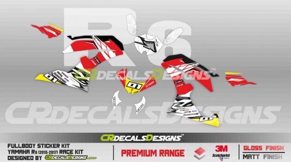 Yamaha r6 race edition promotion