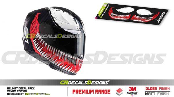 venom helmet sticer pac PRESENTATION