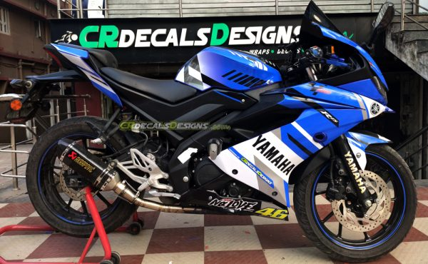 Yamaha r15 v3 VR 46 Race Edition Kit 2