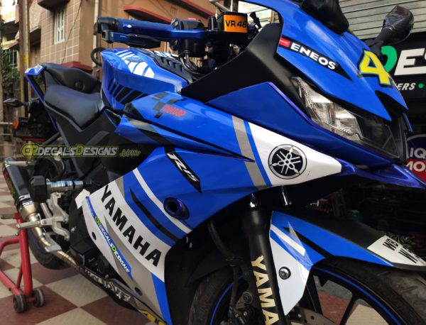 Yamaha r15 v3 VR 46 Race Edition Kit
