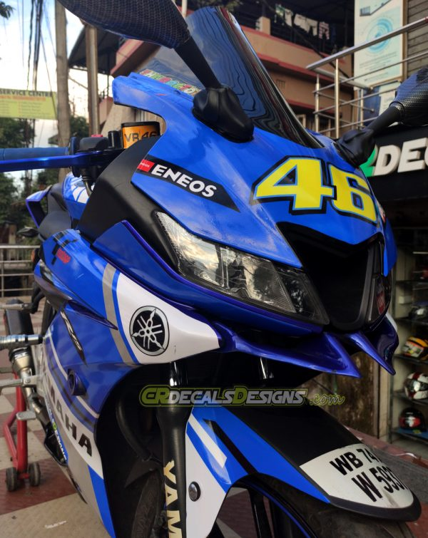 Yamaha r15 v3 VR 46 Race Edition Kit3