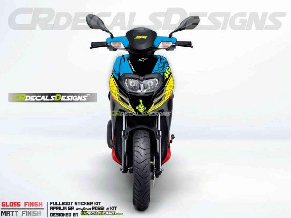 Aprillia full body kit Rossi 46 Kit 2