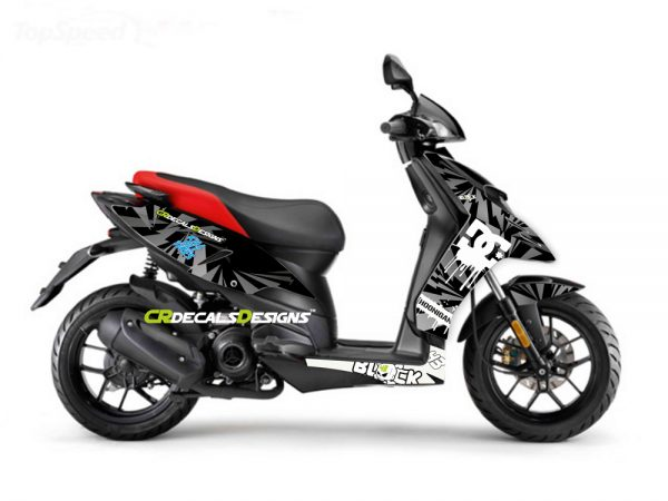 Aprillia full body kit livery kit 1