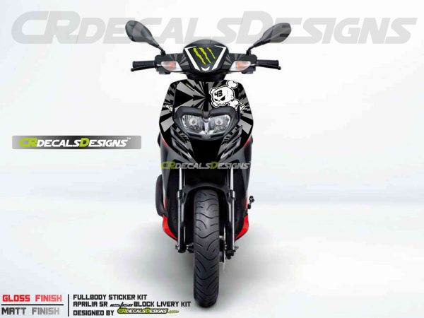 Aprillia full body kit livery kit 2