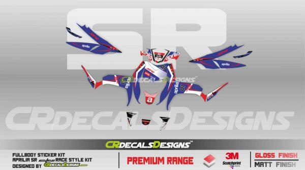 Aprillia full body kit race style kit 3