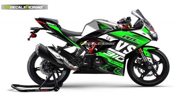 Tvs rr310 Racing Kit promo NEON